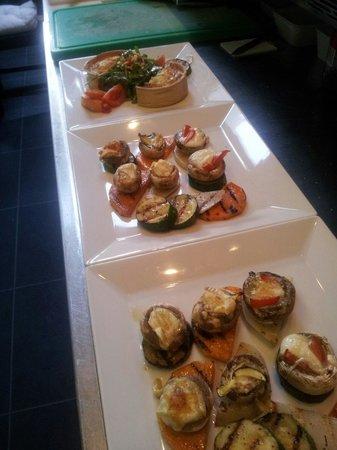 Wieck Bar & Grill: Gevulde champignons