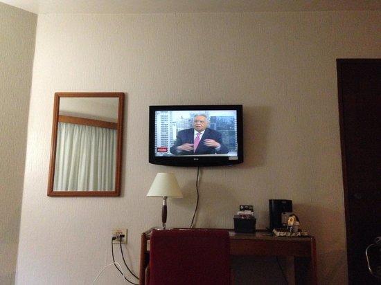 Hotel Princesa Louçã : Parte do quarto...rsrs