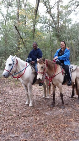 Cypress House Ranch Bed and Breakfast: We so enjoyed the ride best ever.