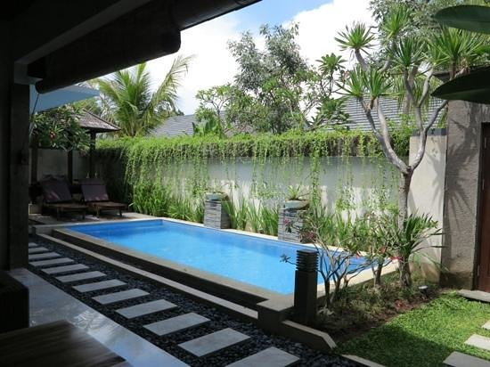 Lumbini Luxury Villas and Spa: one bedroom villa - view to private pool