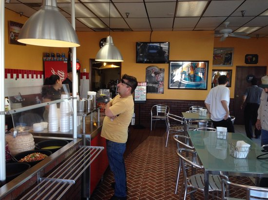 Taco Mex Restaurant - Front Counter & Dining Area