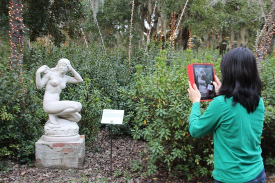 Brookgreen Gardens: Photo of a photo taking