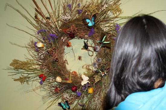 Brookgreen Gardens: Made from real insects