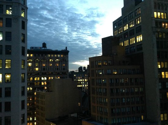 The NoMad Hotel: Hallway view at Sunset