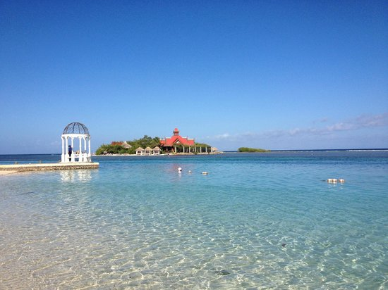 Sandals Royal Caribbean Resort and Private Island : Private Offshore Island