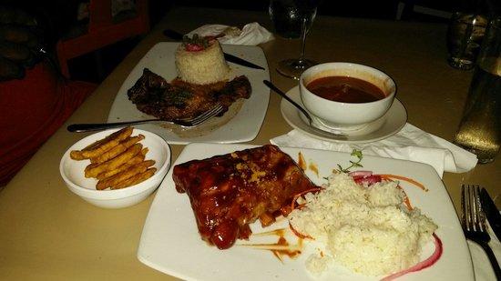 Casita Miramar: Yummy food!