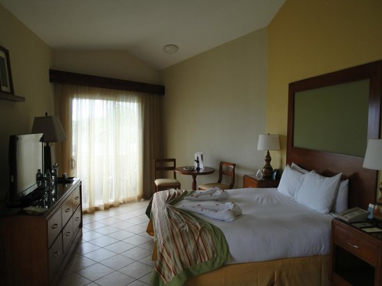 Doubletree Resort by Hilton, Central Pacific - Costa Rica : our corner room in building 3