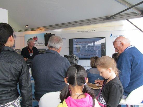 Commodore Yachting: RYA Active Marinas Workshop at the Southampton Boat Show