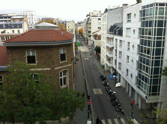 Hôtel Montparnasse Alésia : Vista da Janela