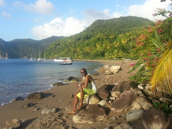 Crystals St Lucia: Gorgeous Malgretout beach, short drive from Crystals