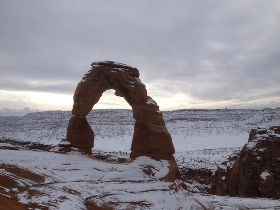 Hampton Inn Moab: Delicate Arch - December 21, 2013
