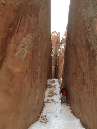 Hampton Inn Moab: Sand Dune Arch