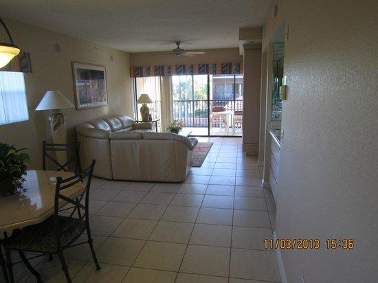 Westgate Vacation Villas Resort & Spa: Living room