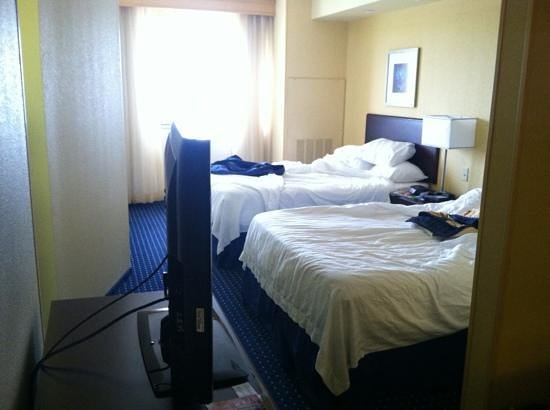 SpringHill Suites Galveston Island: bedroom