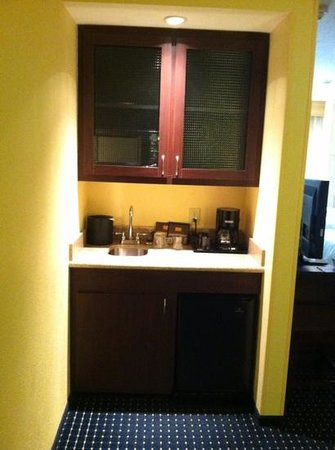 "SpringHill Suites Galveston Island: in room ""kitchen"""