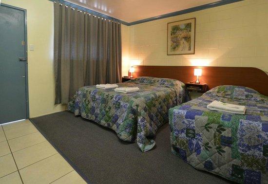 Antler Motel : Twin/Family room