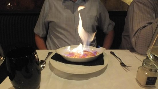 Le Grand Bistro 17eme : Creme brûlée looked impressive