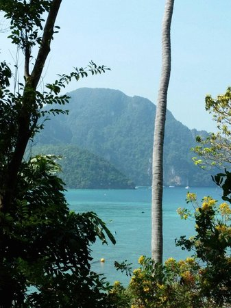 Phi Phi Sunset Bay Resort: Our view from room 1!