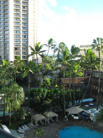 Sheraton Princess Kaiulani : View from the room