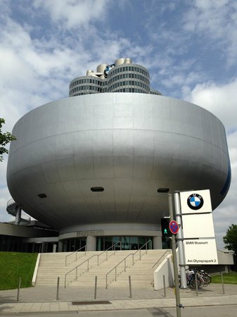 Olympiapark: BMW Museum - located at the foot of the park