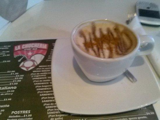 La Chucheria : El mejor cappuccino de La Habana.