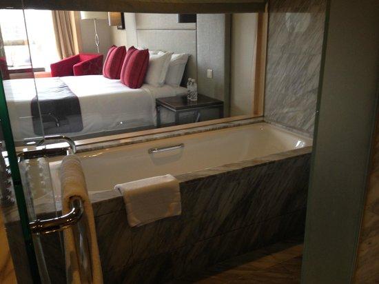 Carlton Hotel Singapore : Bathtub