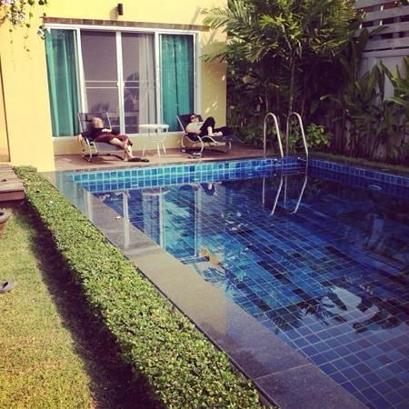 Baan Issara Resort Huahin: with my grandma