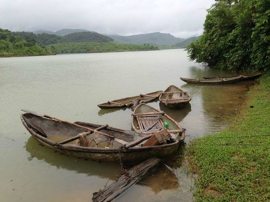 Bloom Microventures: Lake with hand-made boats