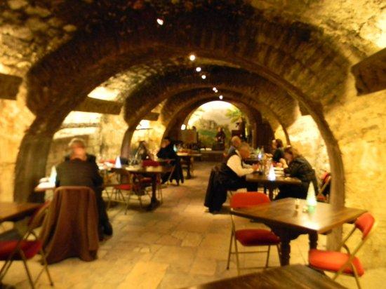 Musee du Vin (Wine Museum): Musee du Vin - cafe area