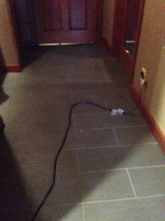 Salish Lodge & Spa: Extension cord to make our television and desk lamp work because the outlets and other electrica