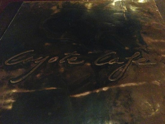 Coyote Cafe: Menu