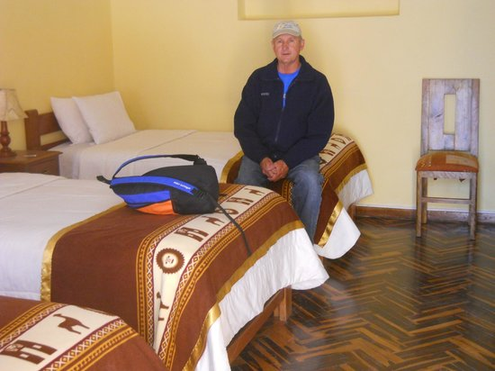 Hotel Puno Terra: Nice, clean accomodations.  Beautiful flooring!