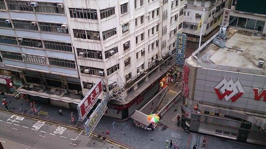 Novotel Hong Kong Nathan Road Kowloon: view from room (city view??)