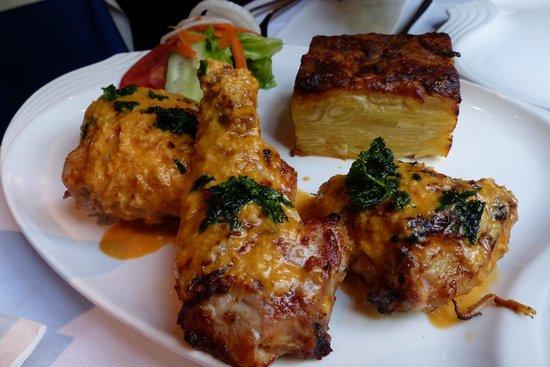 Antonio Restaurant: Terrible African Chicken