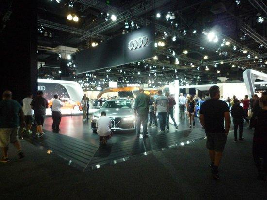 Los Angeles Convention Center: LA auto show