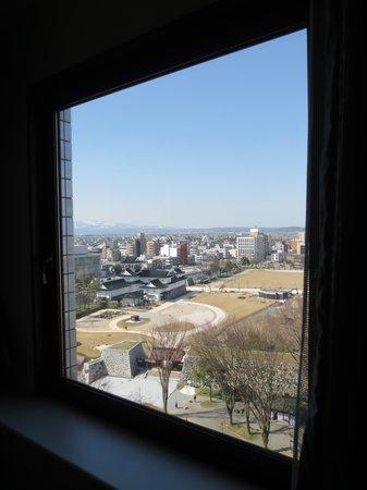 Toyama Daiichi Hotel : 窓からの眺め