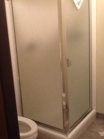 "Oxford Suites Yakima: the ""walk in"" shower"