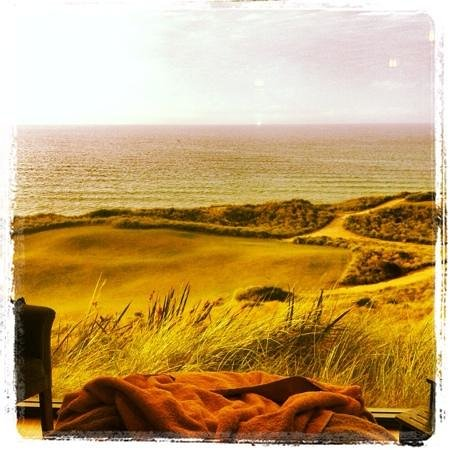 Barnbougle Lost Farm : from the day spa