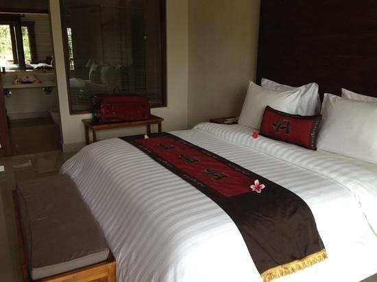 Inata Bisma Resort & Spa Ubud: view from the front door