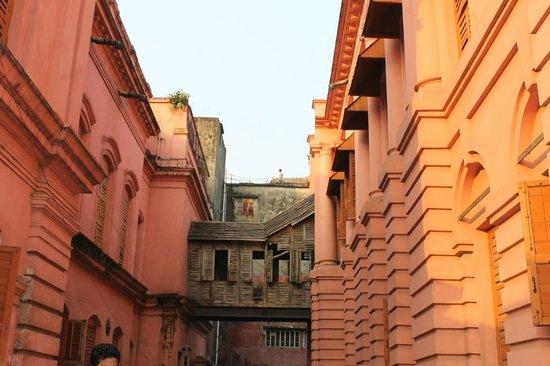Ahsan Manzil : Old construction