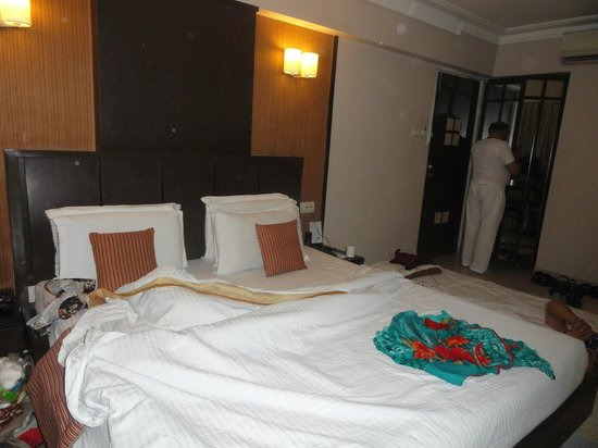 Hotel Accolade: Room in which we stayed