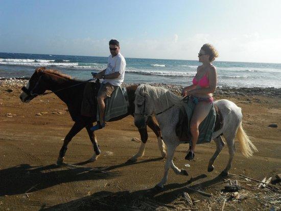 Horse Ranch Bonaire: Romantic ride