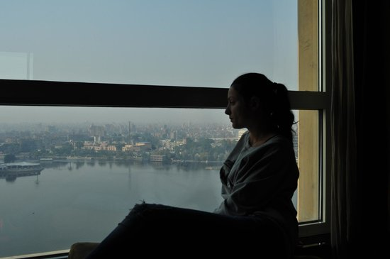 Fairmont Nile City: The Nile River from the room