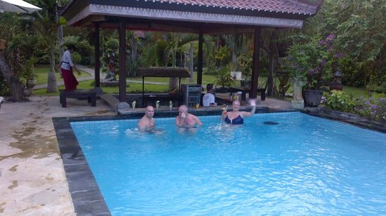 Tirta Sari Bungalows: Best time of the day