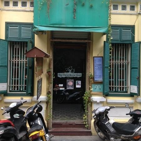 The Hanoi Social Club: out front