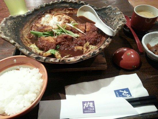 Otoya Thaniya Plaza: 味噌かつ煮