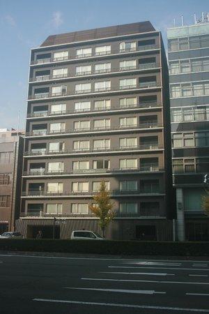 Citadines Karasuma-Gojo Kyoto: From across the street