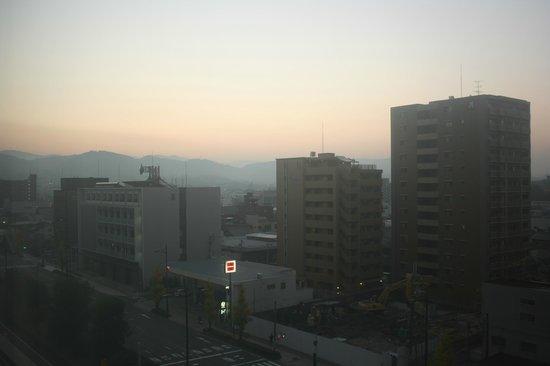 Citadines Karasuma-Gojo Kyoto: A dawn scene