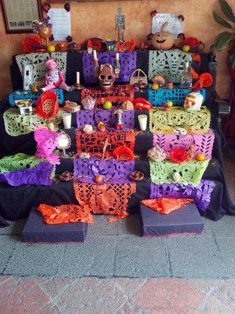 Las Monjas Clarisas: La ofrenda de día de muertos
