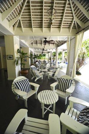 Round Hill Hotel & Villas : Round Hill Tea Room